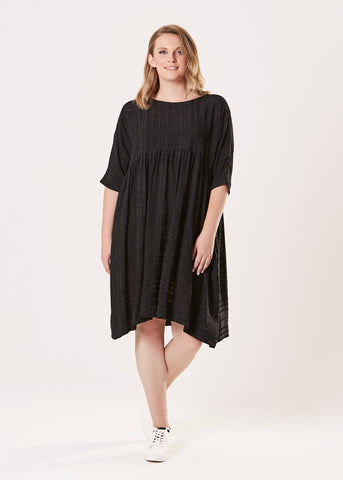 Temple Dress - Black