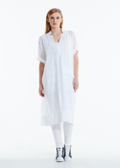 Outside The Square dress - White
