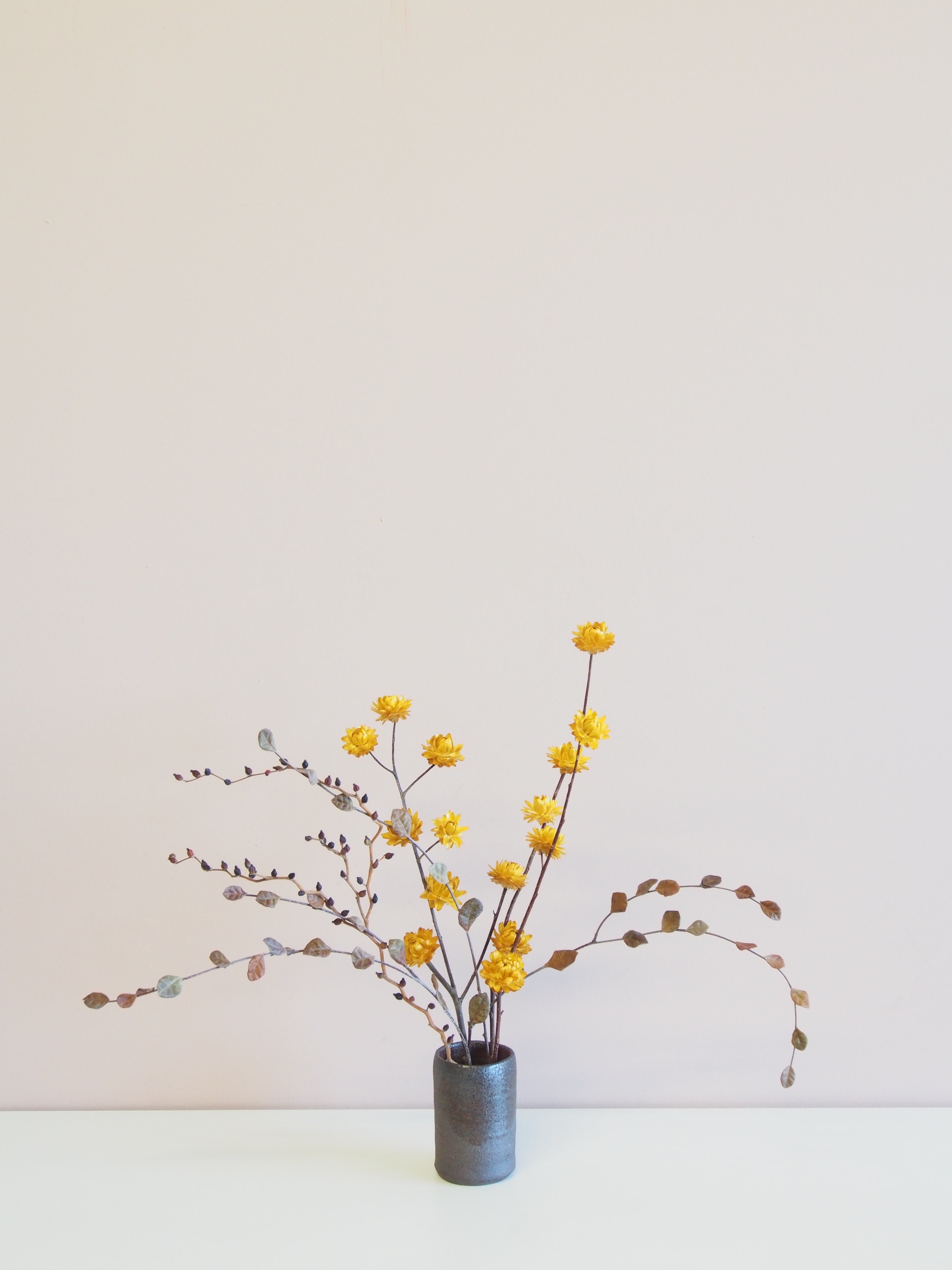 Small Dried Ikebana Arrangement - ready made