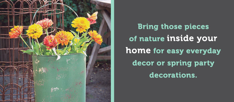 nature spring decor