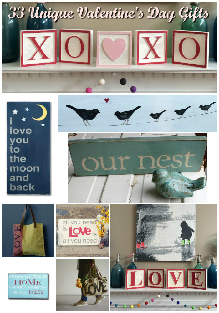 33 Unique Valentine's Day Gifts Your Love Will Love - Barn Owl Primitives