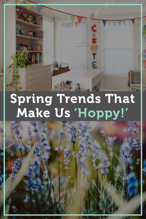spring decor trends