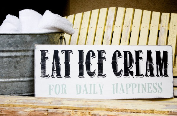 Eat Ice Cream for Daily Happiness - 13 Ways to Recapture Summer's Simple Pleasures