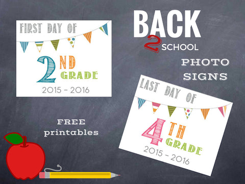 printable for last day of school photos