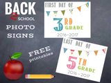 Back To School 2016 Free Printables