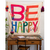 Be Happy Tapestry Blanket