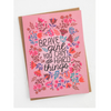 NEW Brave Girl Greeting Card