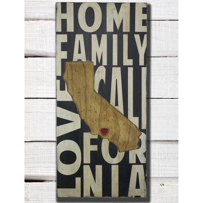 Pick Your State, sign, - Barn Owl Primitives, vintage wood signs, typography decor,