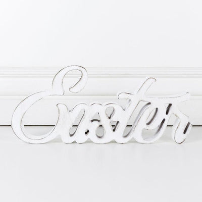 Easter word cutout
