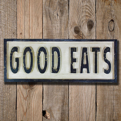 good eats, sign, - Barn Owl Primitives, vintage wood signs, typography decor,