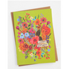 NEW Happy Birthday Flowers Greeting Card