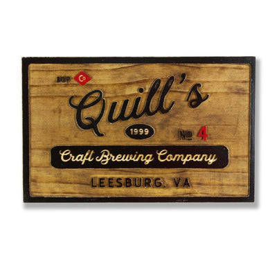 Custom Brewing Company Sign