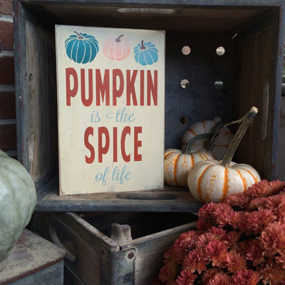 Pumpkin Spice - Blue - Barn Owl Primitives  - 3