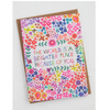 NEW The World is A Brighter Place Greeting Card