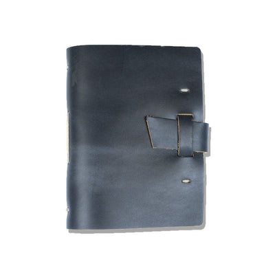 The Capture Life Leather Journal (buckle) - Ocean