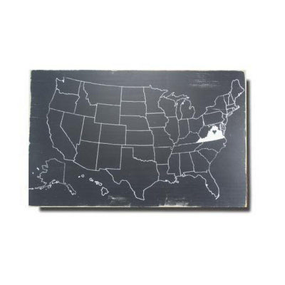USA Outline Map - Pick Your State