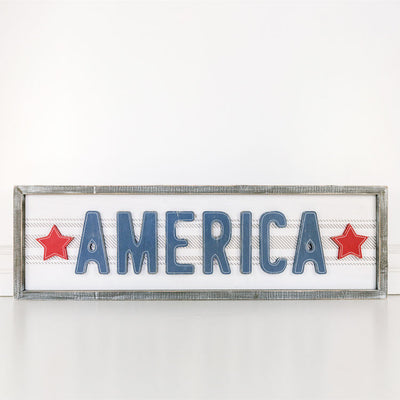 America Summer Reversible Sign