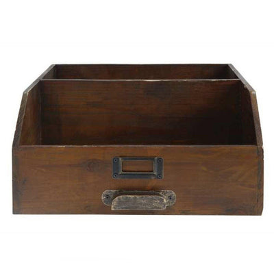 antique style desk caddy