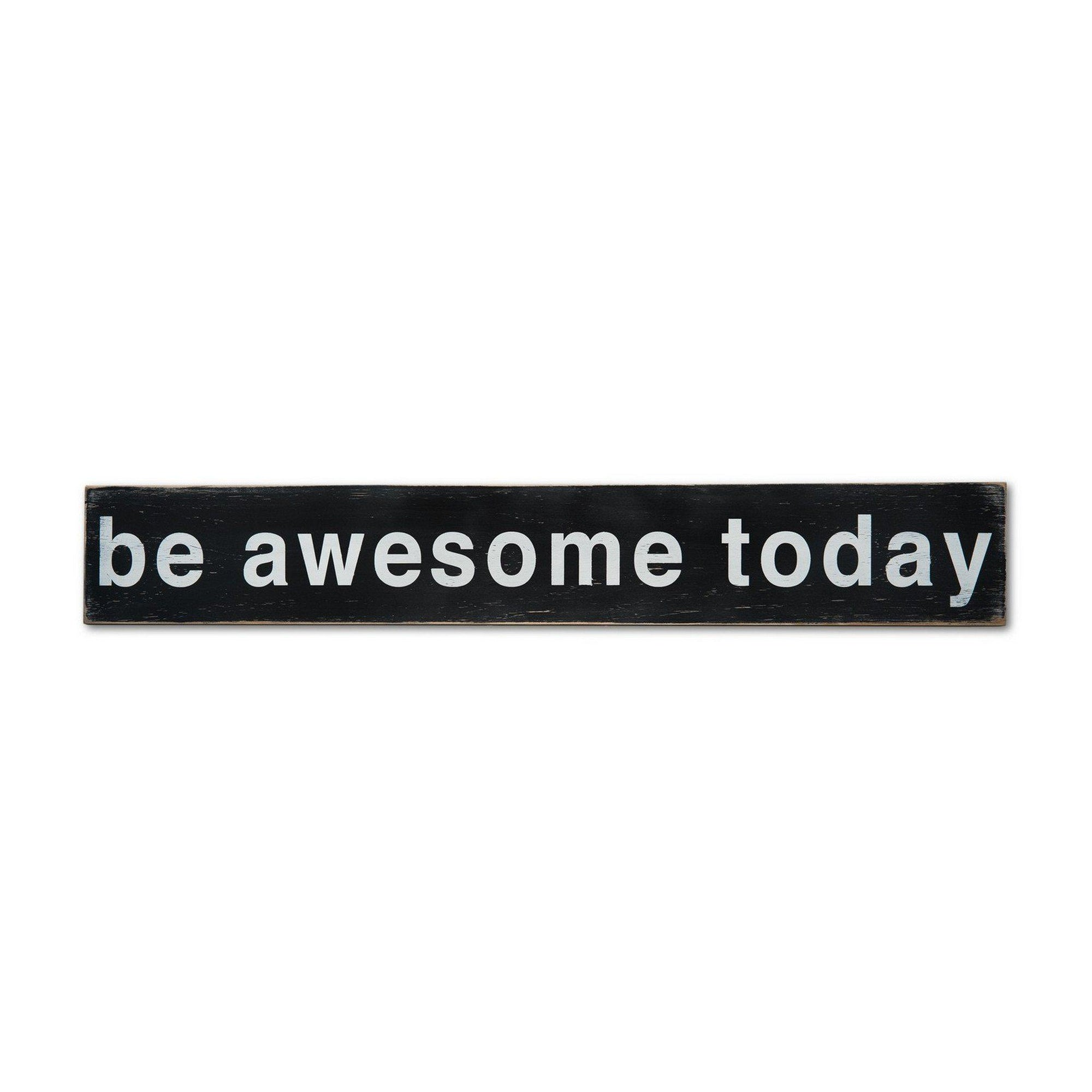 awesome sign decor be awesome today barn owl primitives  be awesome today barn owl primitives