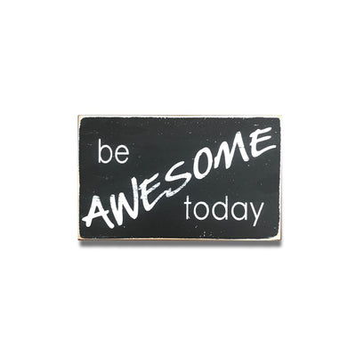 be awesome today • new design