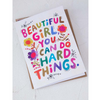NEW Beautiful Girl Greeting Card