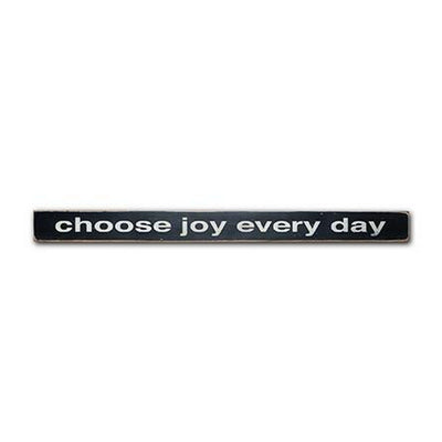 choose joy every day, sign, Barn Owl Primitives, home decor, vintage inspired decor
