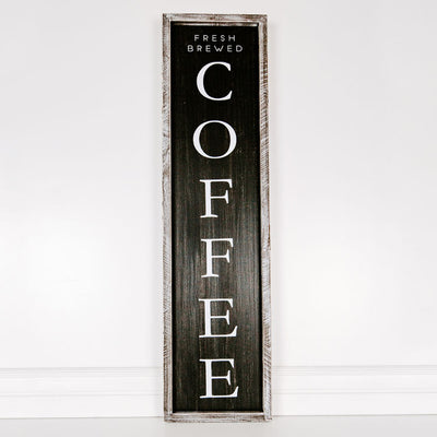 Coffee Reversible Sign