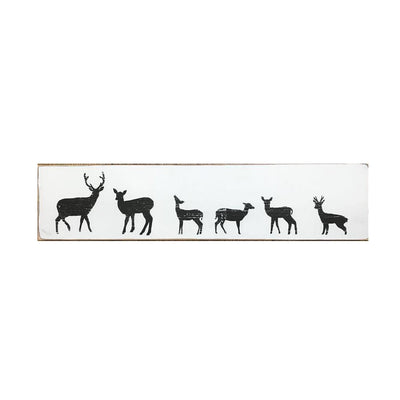 family of deer sign