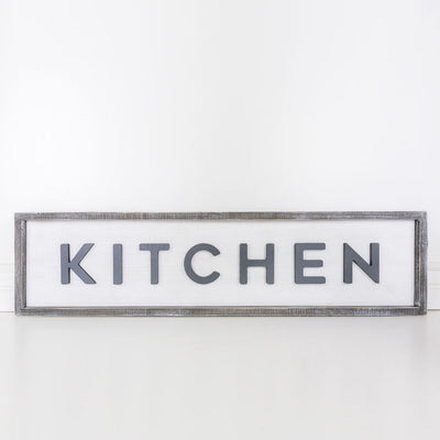 Kitchen Reversible Sign