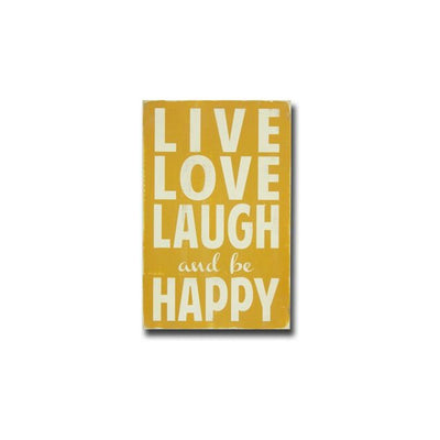 live love laugh - small, sign, - Barn Owl Primitives, vintage wood signs, typography decor,
