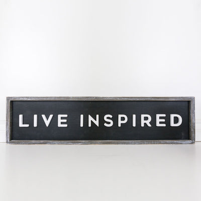 Live Inspired Reversible Sign