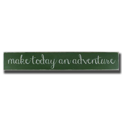 make today an adventure, sign, - Barn Owl Primitives, vintage wood signs, typography decor,
