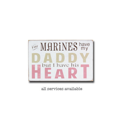 my mommys or daddys heart, sign, - Barn Owl Primitives, vintage wood signs, typography decor,