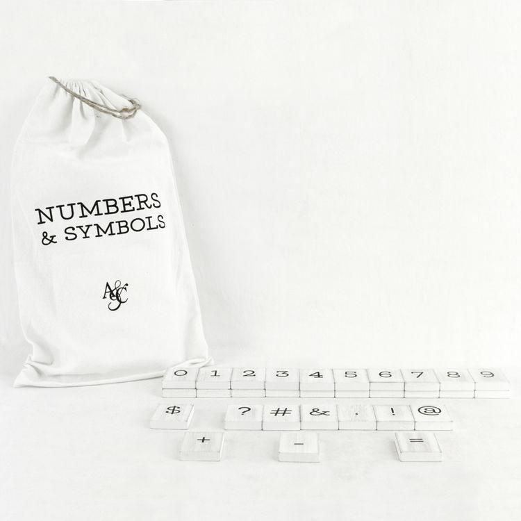 NEW Newspaper Letter Board Numbers and Symbols