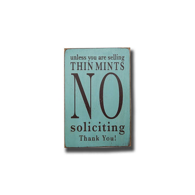 no soliciting, sign, - Barn Owl Primitives, vintage wood signs, typography decor,