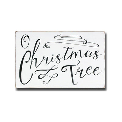 oh christmas tree, sign, - Barn Owl Primitives, vintage wood signs, typography decor,