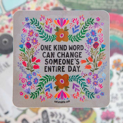 One Kind Word Sticker