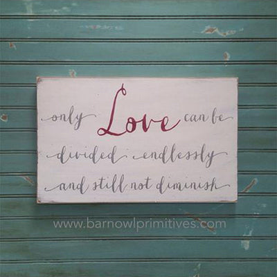 only love, sign, - Barn Owl Primitives, vintage wood signs, typography decor,