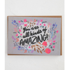 NEW You Are All Kinds of Amazing Greeting Card