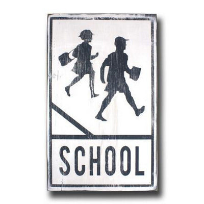 school crossing - great teacher gift.  perfect for a homeschool classroom.