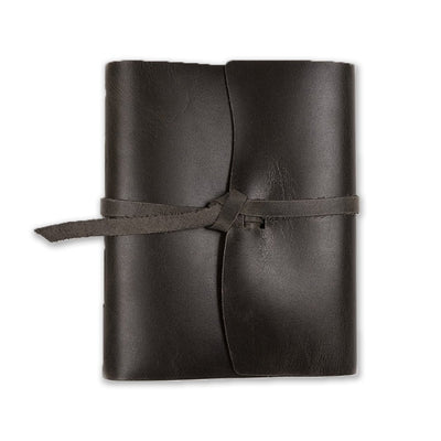 The Capture Life Leather Journal - Charcoal