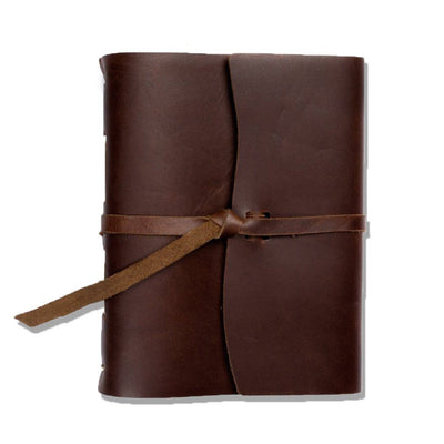 The Capture Life Leather Journal - Dark Brown