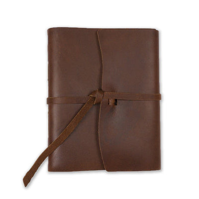 The Capture Life Leather Journal - Saddle