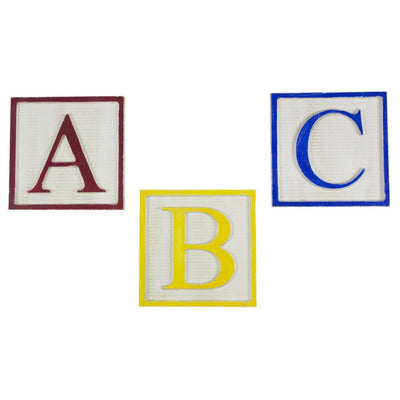 large A, B, C, alphabet set, sign, Barn Owl Primitives, home decor, vintage inspired decor