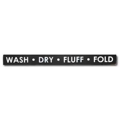 wash dry fluff fold - limited edition