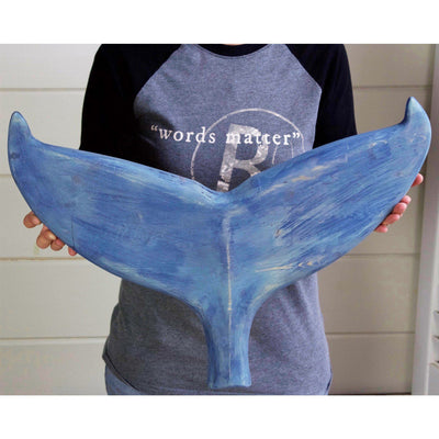Weathered Whale Tail