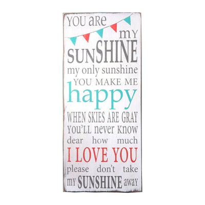 you are my sunshine bunting - Barn Owl Primitives  - 1