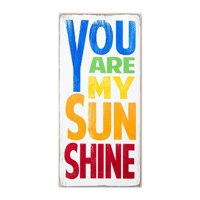 you are my sunshine rainbow - Barn Owl Primitives  - 1