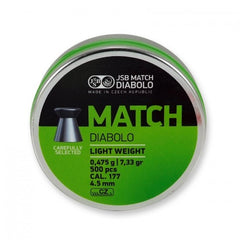 JSB Green Match Light Weight .177/4.50mm