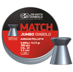 JSB Jumbo Match .22 / 5.50mm - 13.73gr / 0.890grms - 300pc